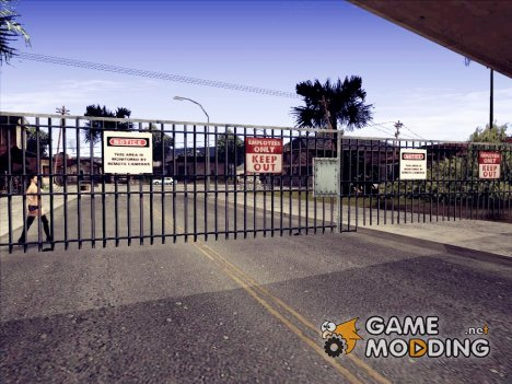 Ворота в Гроув-Стрит for GTA San Andreas