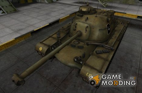 Шкурка для M48A1 for World of Tanks