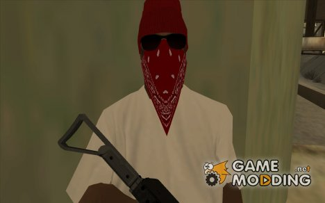 Бандит из Bloods 2 for GTA San Andreas