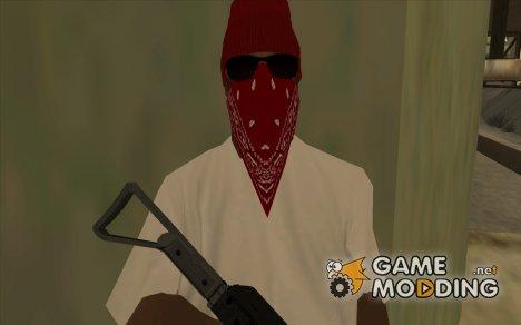 Бандит из Bloods 2 for GTA San Andreas