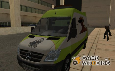 Mercedes-Benz Sprinter for GTA San Andreas