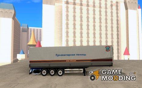 Прицеп МЧС России for GTA San Andreas