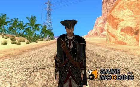 Haytham из Assassin's Creed для GTA San Andreas