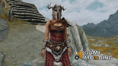 Crypt Hero Armor for TES V Skyrim
