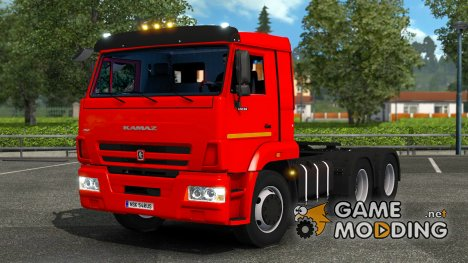 КамАЗ 65115-65116 for Euro Truck Simulator 2