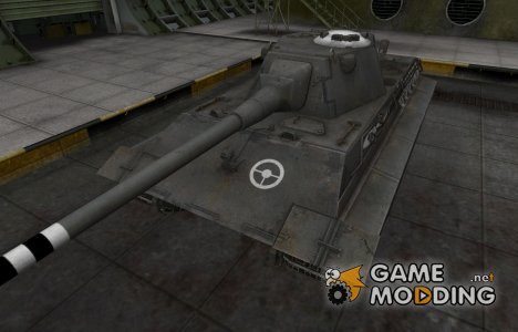 Зоны пробития контурные для E-50 Ausf.M for World of Tanks