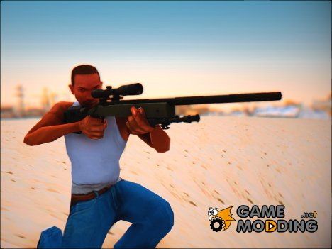 Modern Warfare Remastered M40A3 для GTA San Andreas