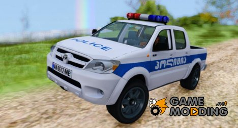 Toyota Hilux Georgia Police for GTA San Andreas