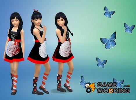 """Платье """"Лолита"""" for Sims 4"""