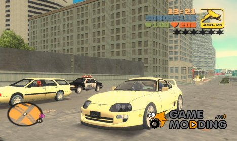 Toyota Supra для GTA 3