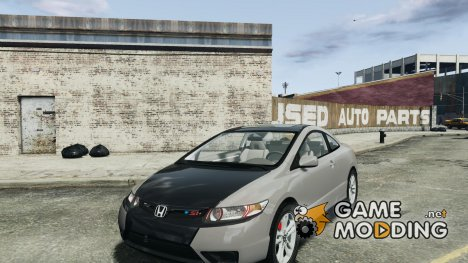 Honda Civic Si Coupe 2006 v1.0 для GTA 4