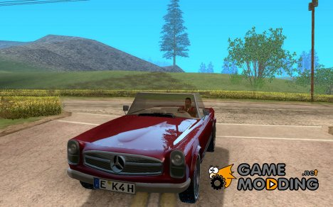 Mercedes-Benz 280SL (матовый) for GTA San Andreas