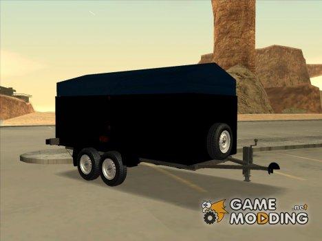 Двухосный прицеп for GTA San Andreas