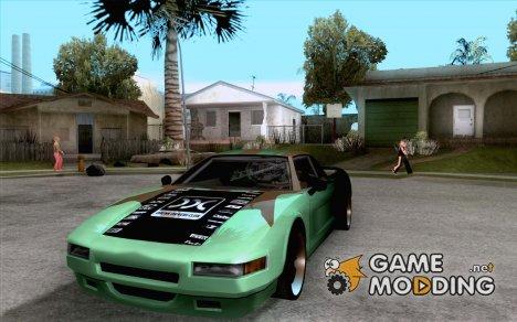 Teal Infernus для GTA San Andreas