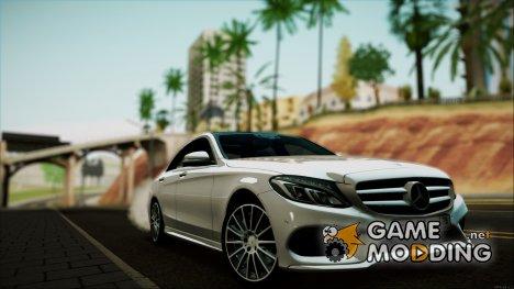 Mercedes Benz C250 2014 для GTA San Andreas