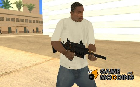 Saiga 12c из Warface for GTA San Andreas