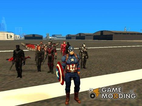 Первый мститель противостояние for GTA San Andreas