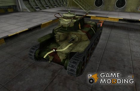Шкурка для Chi-Ha for World of Tanks
