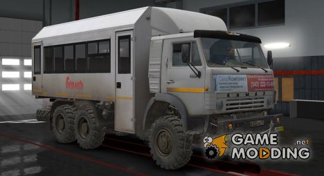КамАЗ 4310 for Euro Truck Simulator 2