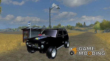 ВАЗ 2121 Нива Monster for Farming Simulator 2013
