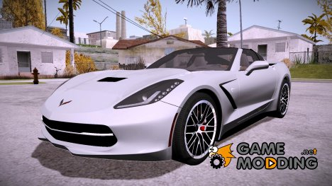 Chevrolet Corvette Stingray c7 2014 for GTA San Andreas