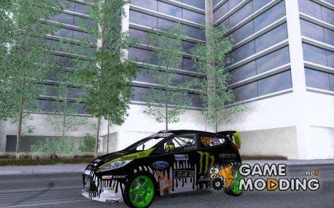 2011 Ford Fiesta Gymkhana 2 для GTA San Andreas
