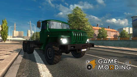 Ural 43202 convert and edit v 3.3 for Euro Truck Simulator 2