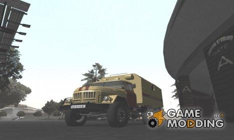 ЗиЛ-130 АМУР Аварийная газовая служба Украины для GTA San Andreas