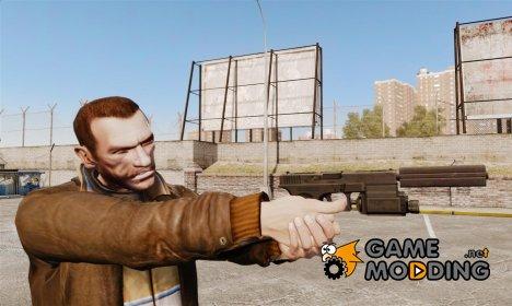 Тактический пистолет Glock 18 v2 for GTA 4