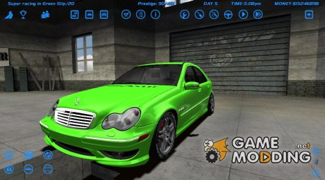 Mercedes-Benz C32 AMG 2004 for Street Legal Racing Redline