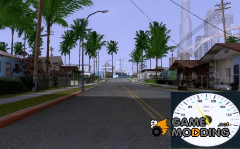 Новый спидометр for GTA San Andreas
