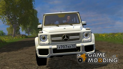 Mercedes-Benz G65 AMG v.1 for Farming Simulator 2015