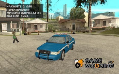 Ford Crown Victoria Wisconsin Police для GTA San Andreas