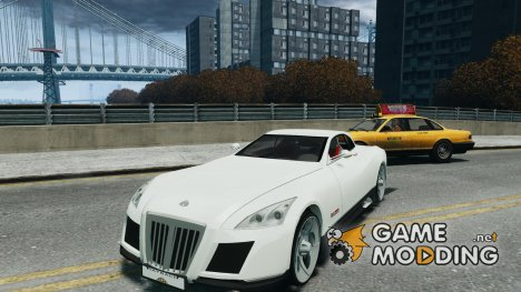 Maybach Exelero для GTA 4