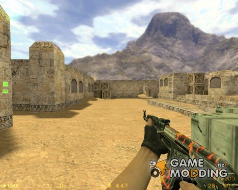 AK47 Fire Madness для Counter-Strike 1.6