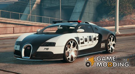 Bugatti Veyron - Police for GTA 5