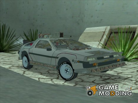 DMC DeLorean Постапокалипсис для GTA San Andreas