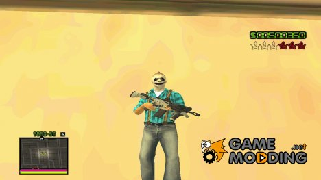 C-HUD Hapaxe v13 для GTA San Andreas