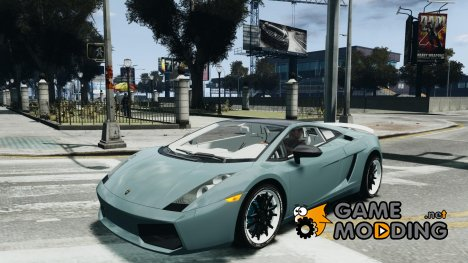 Lamborghini Gallardo LP560-4 [EPM] for GTA 4