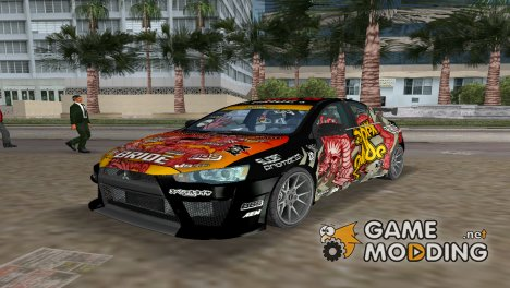 "Mitsubishi Lancer ""Ryo Watanabe"" для GTA Vice City"