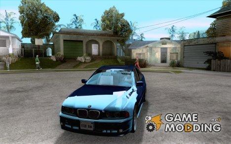 BMW 5-er E39 v2 for GTA San Andreas