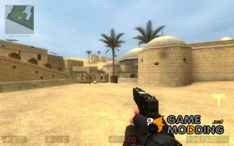 Fixed - Mirrored - Sexi Glock 18C - MAC 10 для Counter-Strike Source