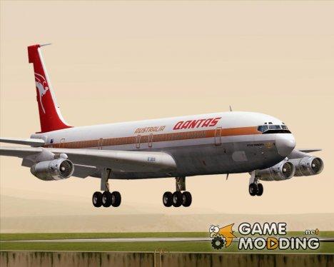Boeing 707-300 Qantas for GTA San Andreas