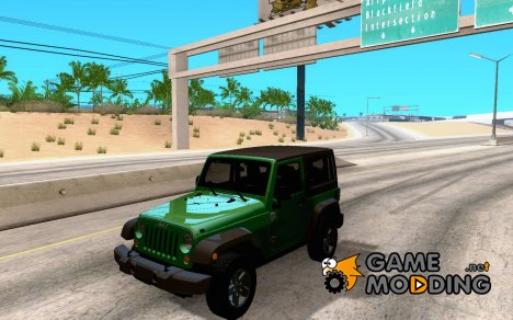 Jeep Wrangler Rubicon 2012 for GTA San Andreas