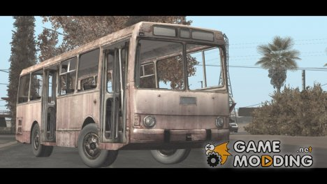 Заброшенный автобус for GTA San Andreas