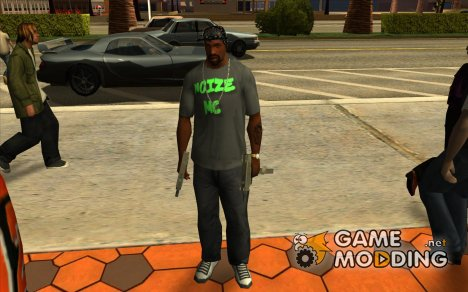 Футболка Noize Mc for GTA San Andreas