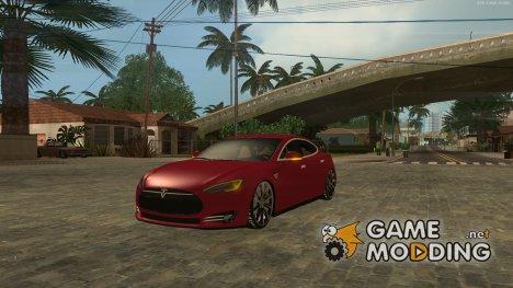 Tesla Model S 2014 v2 for GTA San Andreas