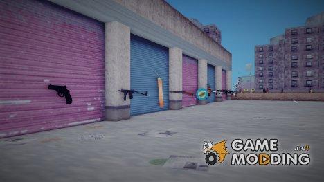 Невиданное русское оружие for GTA 3