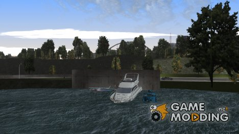 Пак реальных лодок for GTA 3