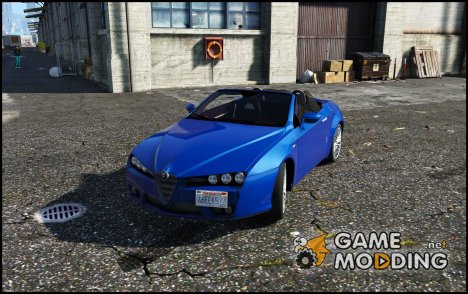 Alfa Romeo Spider 939 (Brera) 1.0 for GTA 5